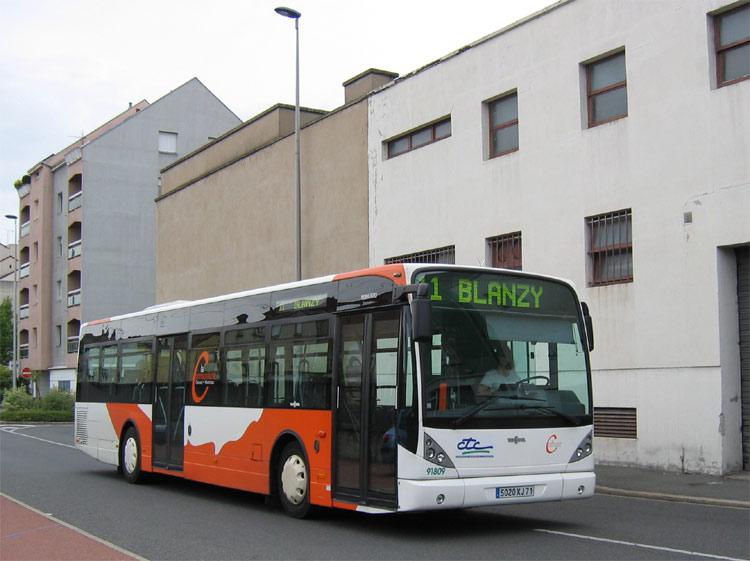 Van Hool new A 320 CTC Montceau-les-Mines