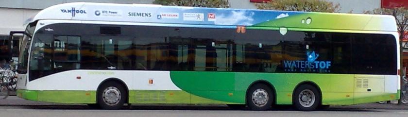 Van Hool waterstofbus