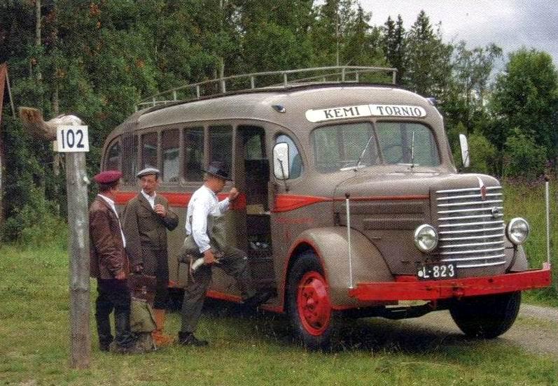 VANAJA Finland bus