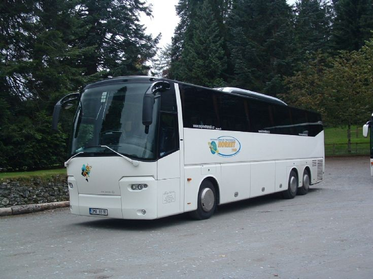 VDL Bova coach Schotland