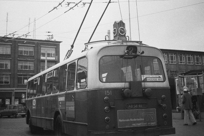 Verheul GVA 151 Arnhem Trolleybus
