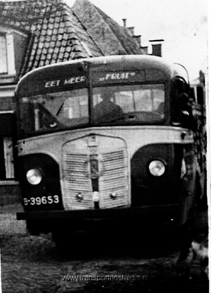 Verheul oude bus nu vrachtwagen B-39653