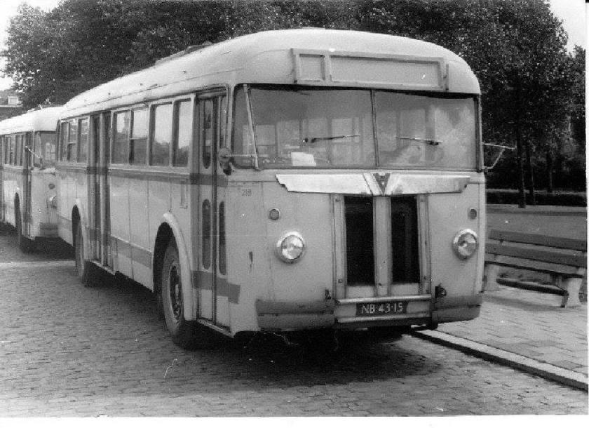 Verheul van de Jong Tours ex HTM bus