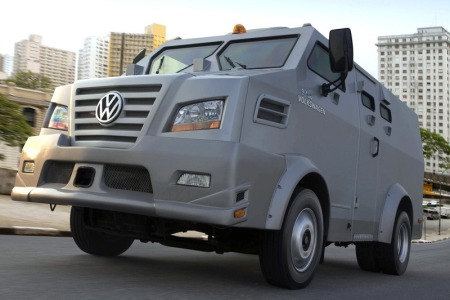 Volkswagen 9.150 ECE Armored Truck 1