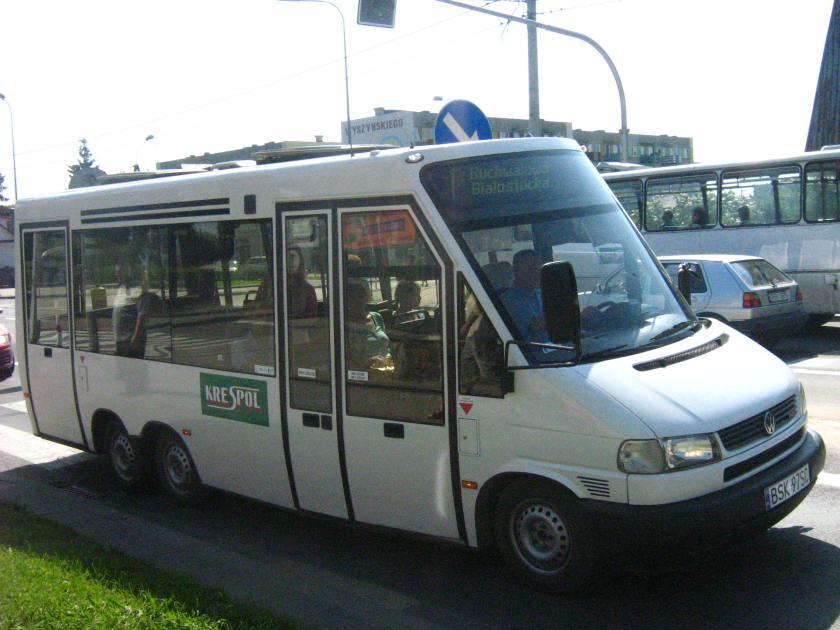 Volkswagen buses KRESPOL Sokółka