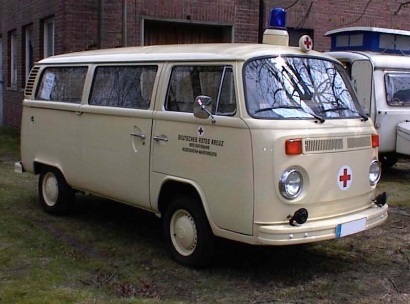 Volkswagen Type2 T2b Ambulance. Late 1970s Volkswagen Type 2 Ambulance