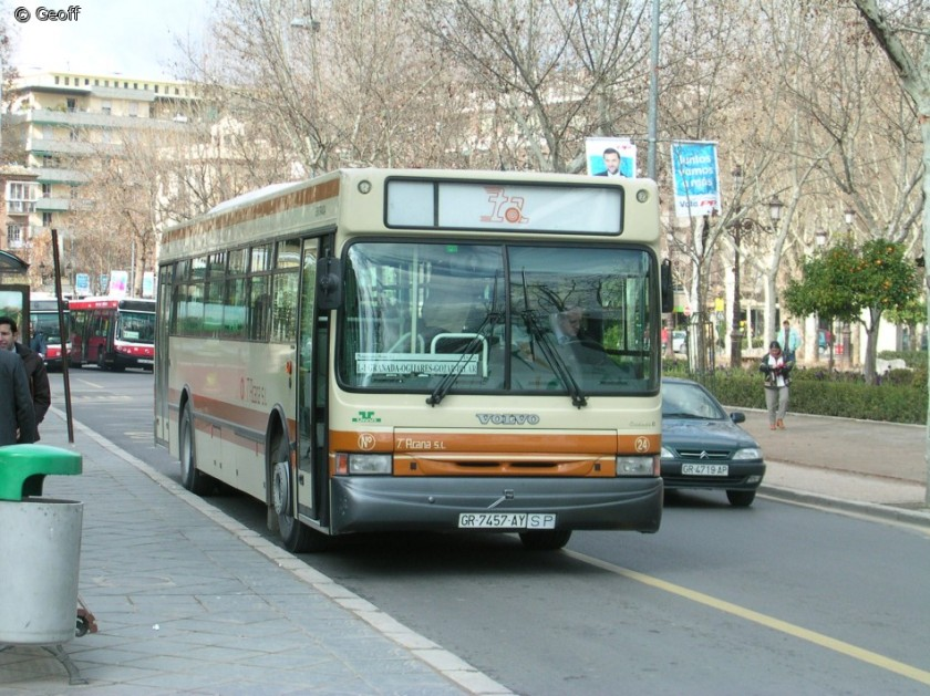 Volvo B10M with Unvi body