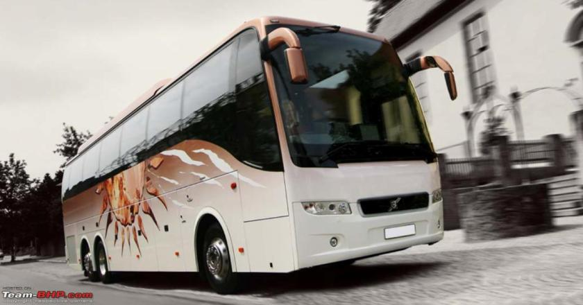 Volvo B9R Coach  9400 6x2-customer