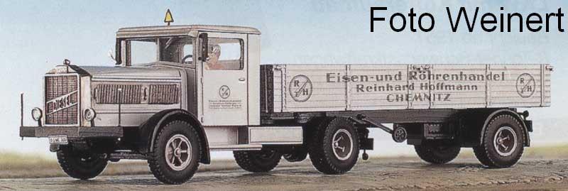 Vomag LKW mit Holzkofferaufbau Bausatz