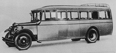 Vulcan AJS Pilot bus