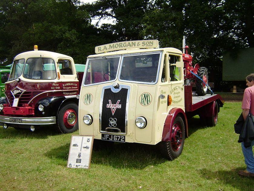 Vulcan lorry
