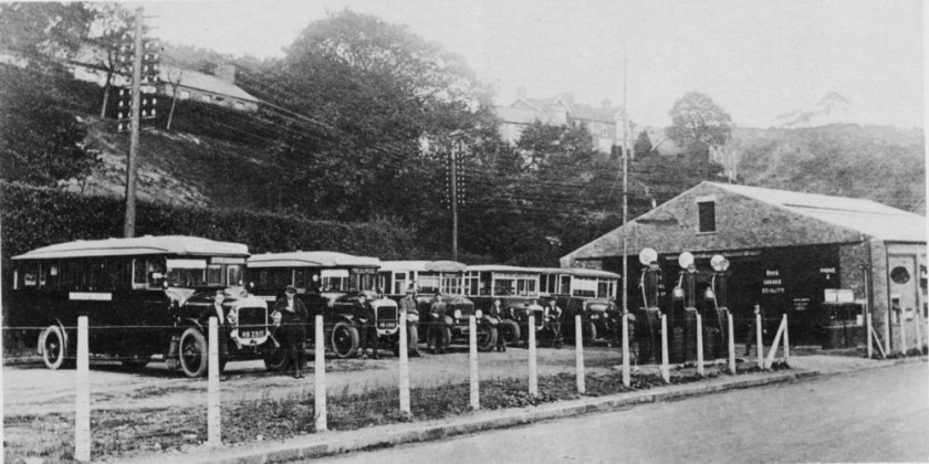 Vulcan Saloon Bus on the Treharris, Quakers Yard, Pontypridd service MerthyrTydfil Buses JonesBrosTreharris CMS