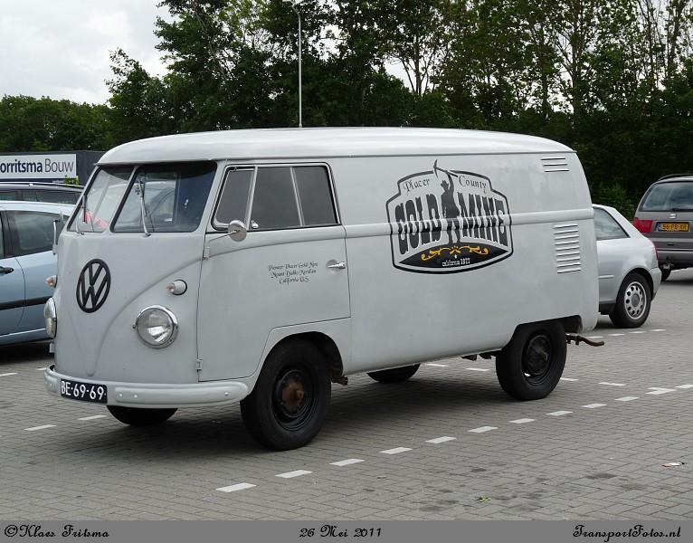 VW Bus zestiger jaren