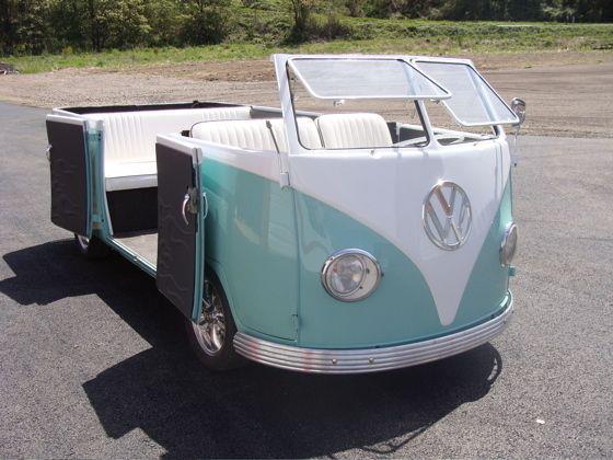 VW Cabriolet bus