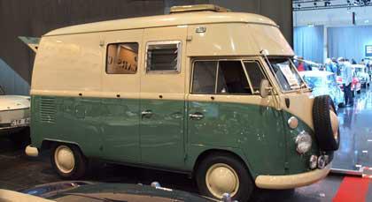 VW Camper verhoogd