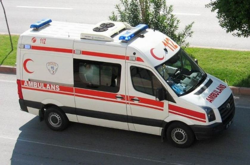 VW Crafter ambulance