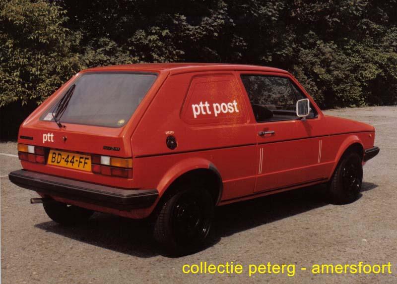 VW Golf bestel PTT
