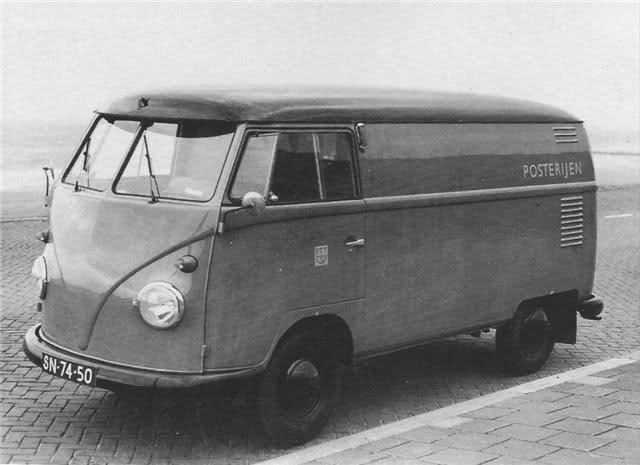 VW T1 bus ned PTT