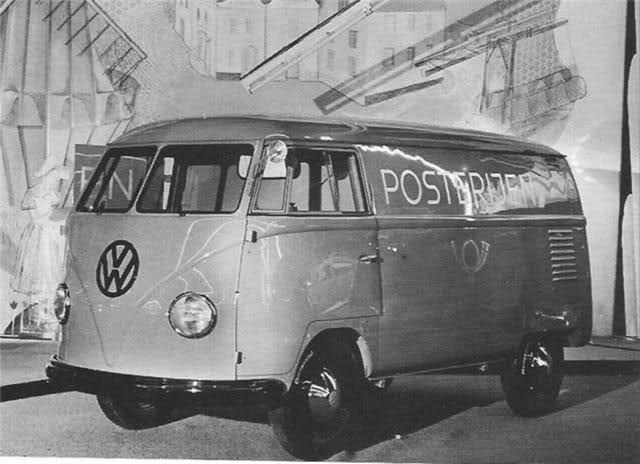 VW T1bus Deutsche PTT