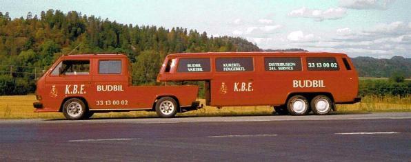 VW vanagontrailer