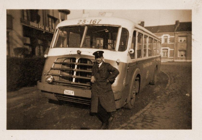 Willems Motor met Henschel Chassis de Muynck B
