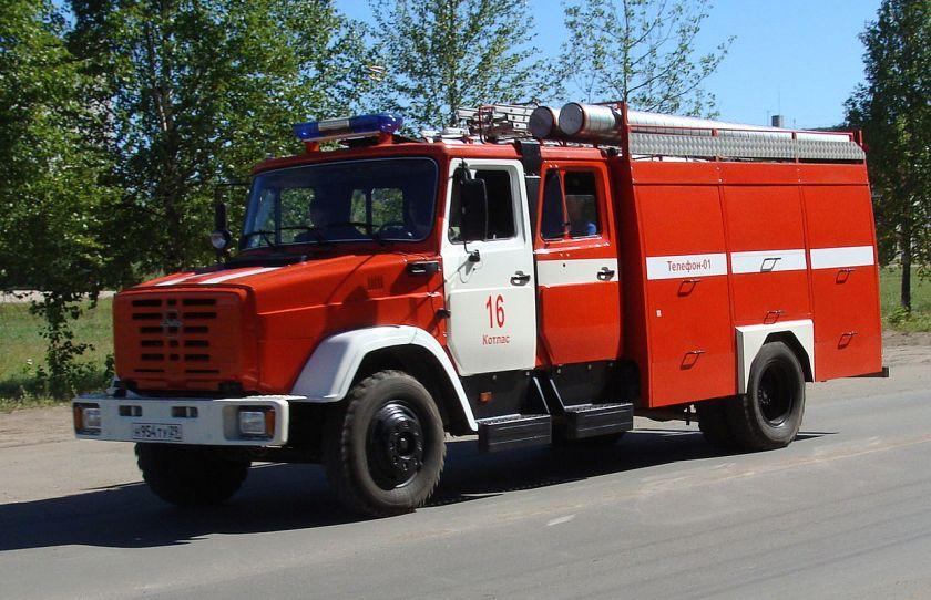 12 fire truck AC 3.2-40 (ZiL-4331)