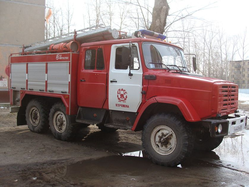 13 fire truck Zil-4334