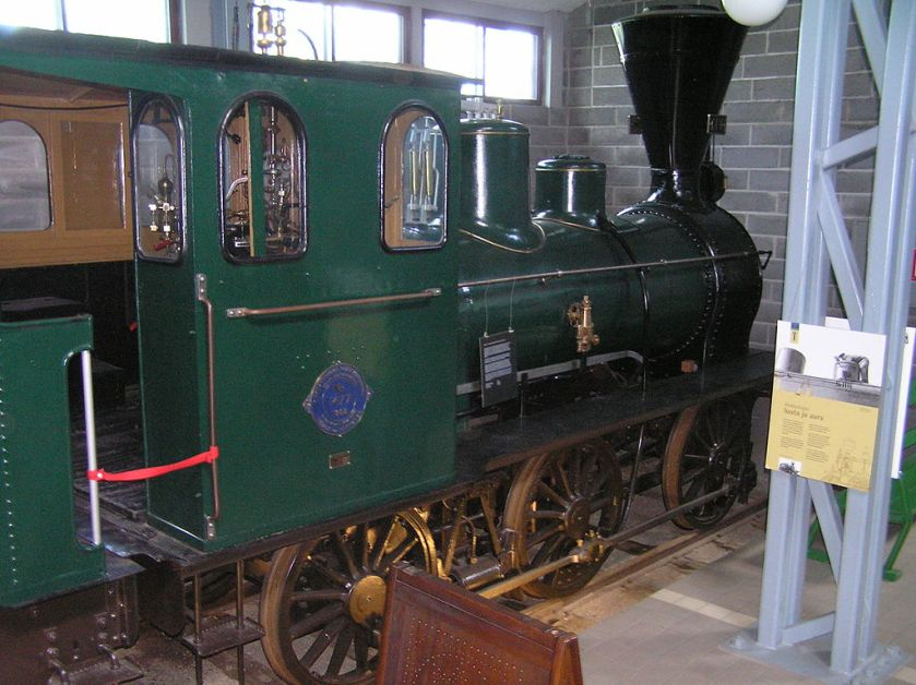 1882 Hannoversche Maschinenbau locomotive No 1477 of 1882 0-6-0 at the Finnish Railway Museum