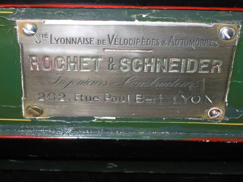 1895 Emblem Rochet-Schneider
