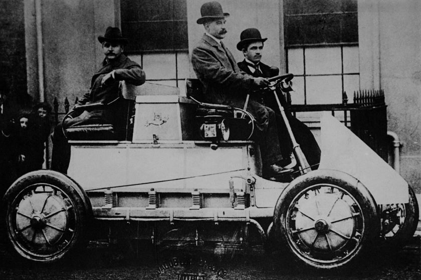 1900 Jacob Lohner & Co Porsche Hybrid