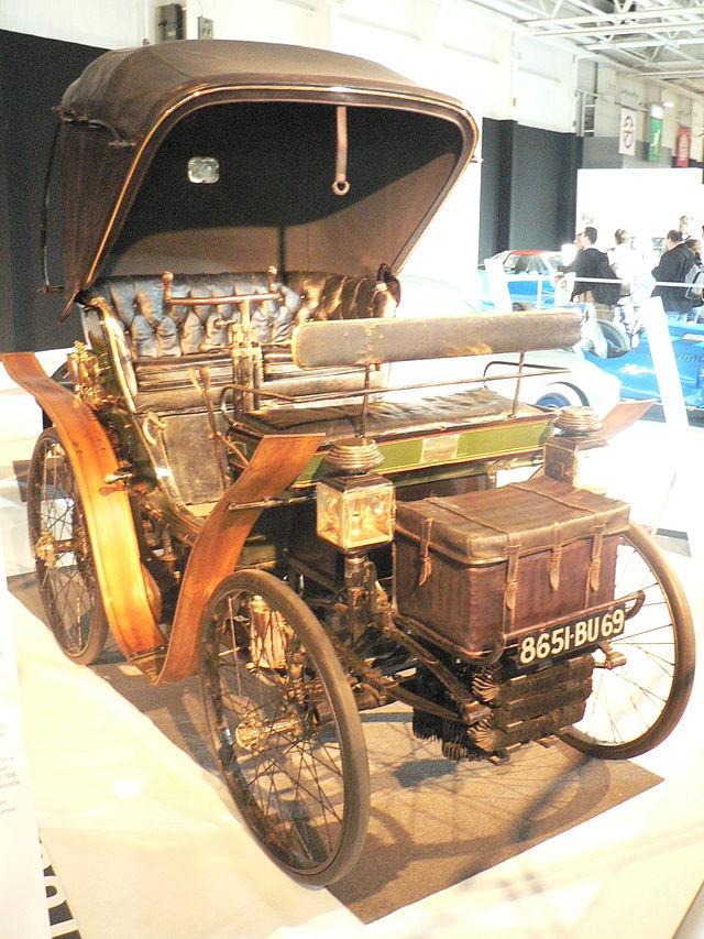 1900 Rochet-Schneider 4 places Avec Capote