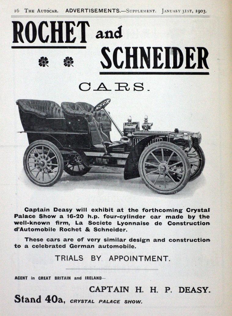 1903 Rochet-Schneider