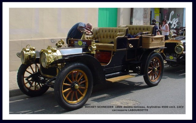 1904 labourdette - rochet schneider double tonneau - 1904