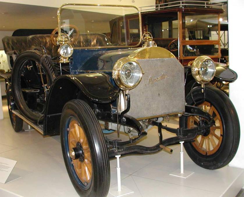 1906 A DMG Mercedes Simplex in the Deutsches Museum