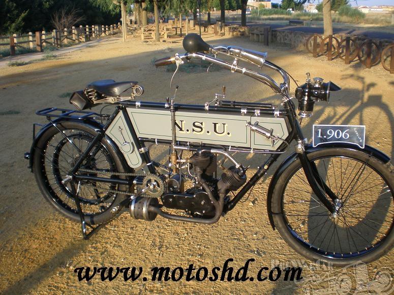1906 NSU 5.5 Touring