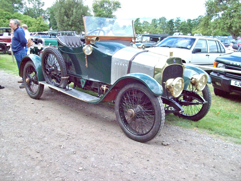 1908-20 Vauxhall A Type 3000cc Another former Antipodean The A Type