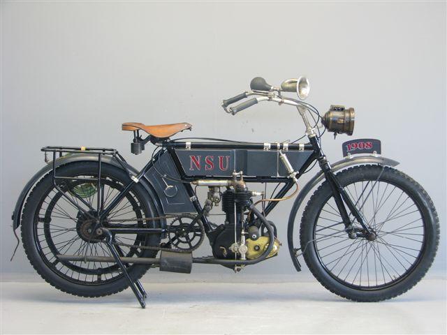 1908 NSU 3,5hp 410cc ioe