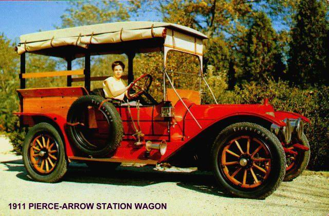 1911 Pierce-Arrow Station Wagon