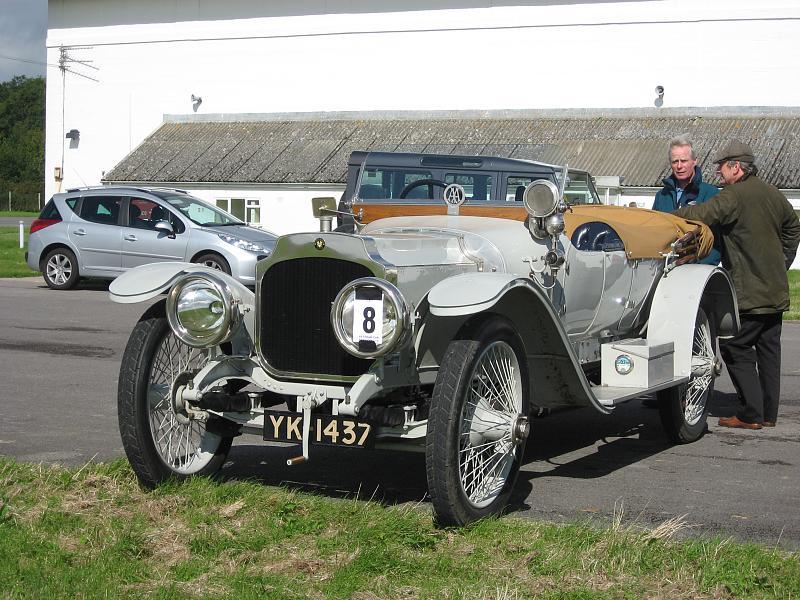 1912 Vauxhall A-Type A12 3.4-litre open tourer