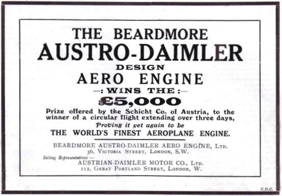 1914 Beardmore-AustroDaimler-1914-1