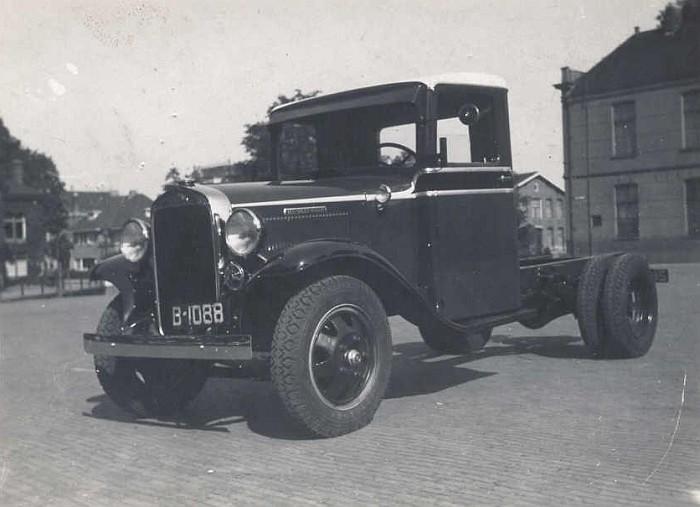 1914 REO Speedwagon vrachtwagen Sneek