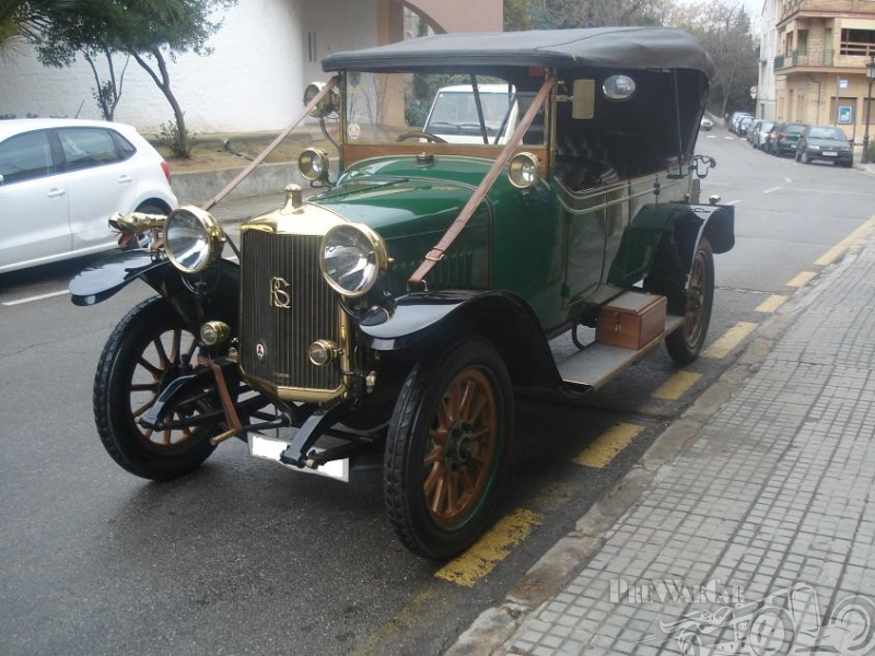 1914 Rochet Schneider Phaeton