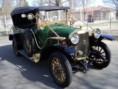 1914 ROCHET SCHNEIDER Torpédo 7 passager Série 15000