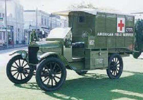 1915 Ford Model T Ambulance