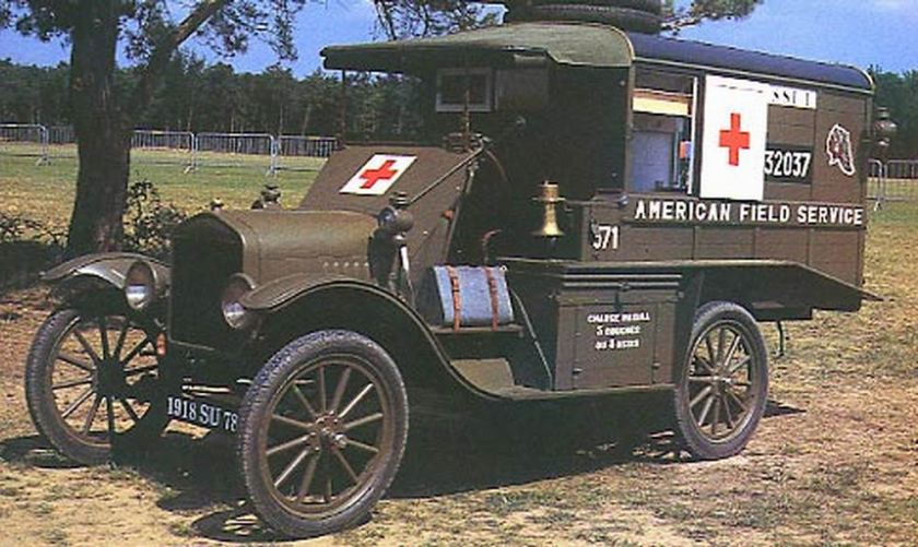 1915 ford t ambulance restored