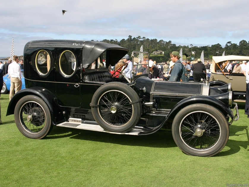 1915 Pierce Arrow 38-C Kimball Town Car-3