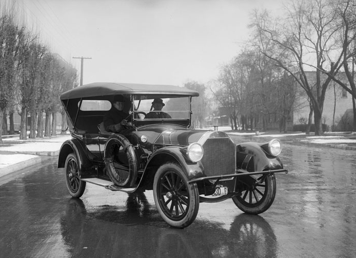 1915 Pierce Arrow Touring Car, Salt Lake City, Utah