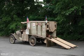 1917 Ford Model T Ambulance