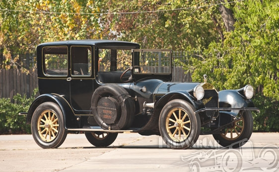 1917 Pierce-Arrow Model 38 C-4 Open-Front French Brougham