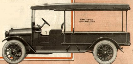 1917 Reo Speed Wagon